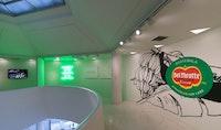 Installation view: <em>Under the Same Sun: Art from Latin America Today</em>. Solomon R. Guggenheim Museum, New York, June 13 – October 1, 2014. Photo: David Heald © Solomon R. Guggenheim Foundation.