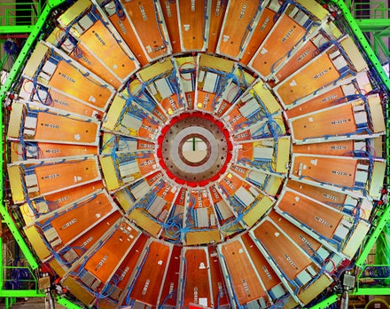 "Simon Norfolk, ""Large Hadron Collider No6,"" 2007. ©Simon Norfolk/Courtesy of Bonni Benrubi Gallery, NYC."