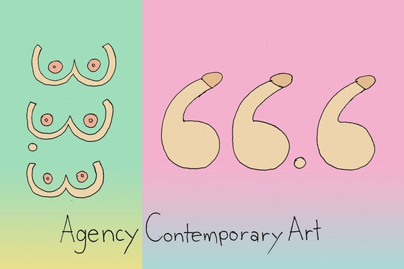 Agency Contemporary, poster by Sofia Londono.