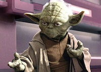 Frank Oz is Yoda in 20th Century Fox's <i>Star Wars: Episode III – Revenge of the Sith</i> (2005).