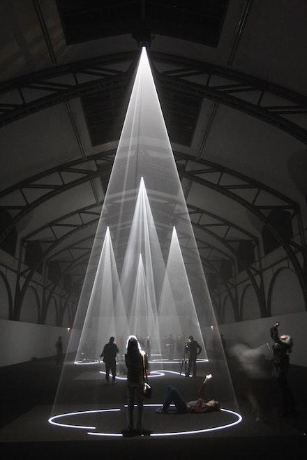 """Five Minutes of Pure Sculpture"". Installation view at Nationalgalerie im Hamburger Bahnhof,  Museum für Gegenwart, Berlin, 2012. Photo by Sean Gallup, Getty Images. Courtesy Sean Kelly Gallery, New York."