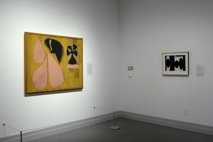 Installation of <em>Robert Motherwell: The East Hampton Years, 1944 – 1952</em>. Photo by Gary Mamay.