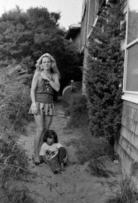 Cookie & son Max, Provincetown, 1976. © Audrey Stanzler.