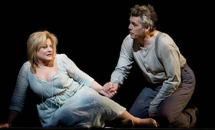 Debra Voigt and Thomas Hampson in Wozzeck, courtesy Metropolitan Opera