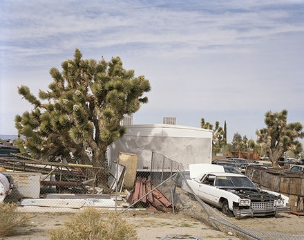 "Justine Kurland, ""Cadillac Junkyard,"" 2012. Inkjet print, edition of 6, 181/2 × 24 ̋. Courtesy of the artist and Mitchell-Innes & Nash, NY."