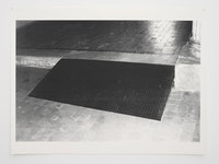 "Andrea Büttner, ""Ramp,"" 2010. Screen print, 120 × 160 cm, Courtesy the artist and Hollybush Gardens."