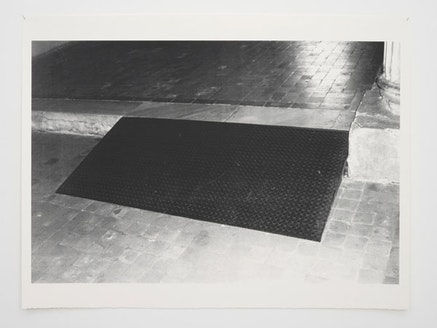 """Andrea Büttner, """"Ramp,"""" 2010. Screen print, 120 × 160 cm, Courtesy the artist and Hollybush Gardens."""