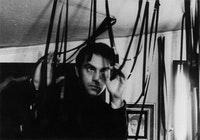 Gregory J. Markopoulos, circa 1965. Photograph by Jerome Hiler