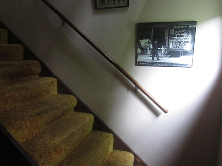 The residency's signature carpet, courtesy the Shandaken Project.