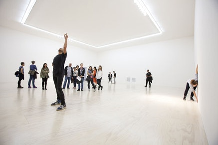 Xavier le Roy, MoMA PS1 Retrospective, 2014. Photo: Matthew Septimus. Courtesy of the artist and MoMA PS1.