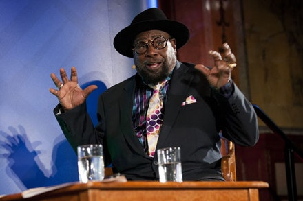George Clinton. Photo Courtesy of Sarah Stack/The New York Public Library.
