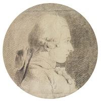 Portrait of Marquis de Sade. Charles Amédée Philippe van Loo (1719-1795). © Photo Thomas Hennocque/ADAGP