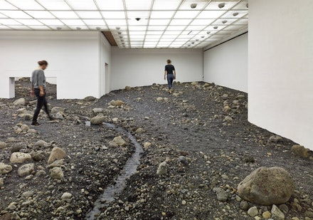 "Olafur Eliasson, ""Riverbed,"" Installation shot, Riverbed, 2014. Photo: Anders Sune Berg Courtesy: Louisiana Museum of Modern Art, Humlebæk."