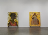 Installation view, <em>Night And Day</em>. Photo by Maris Hutchinson/EPW. All artworks © Chris Ofili. Courtesy David Zwirner, New York/London.