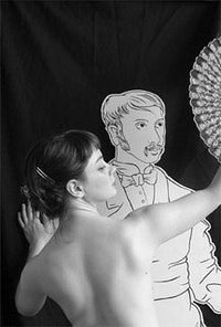 <i>Photograph of Sarah Edgars' Courtesan.</i>