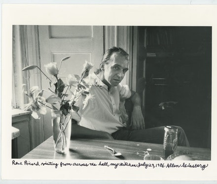 RR by Allen Ginsberg, 1986. Courtesy of the Allen Ginsberg Estate.