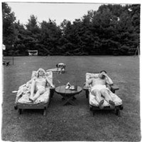 "Diane Arbus, ""A family on their lawn one Sunday in Westchester, N.Y."" (1968).