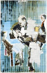 """Magnus Von Plessen, """"Allergie (Allergy)"""" (2004), oil on canvas. Copyright Magnus von Plessen. Courtesy Gladstone Gallery, NY."""