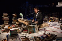 Gabriel Kahane in The Ambassador. Photo by Max Gordon.