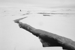 """Martin Hartley, """"Route Finder, Adventure Ecology Trans-Arctic Expedition,"""" 2004."""