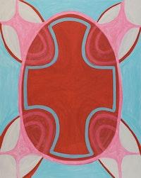 """Margrit Lewczuk, """"Untitled,"""" 2009. Acrylic on linen.  Courtesy of the artist."""