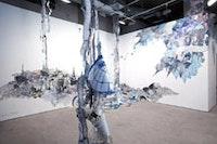 """Nicola López, """"Vertigo"""" (2005), mixed media. Courtesy of Caren Golden Fine Art."""