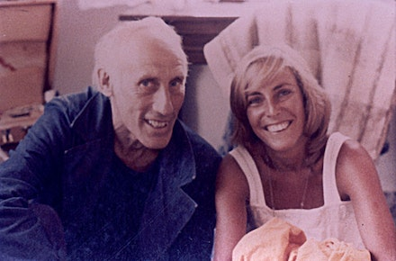 Robert Lax and Nancy Goldring on Patmos, 1978. Courtesy the author.
