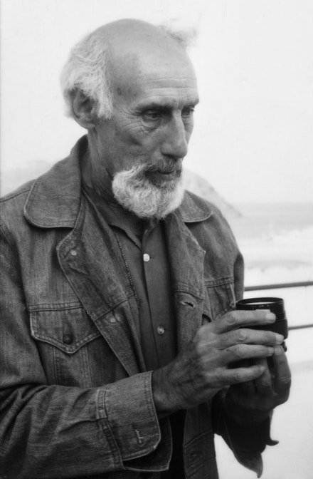 Robert Lax in 1992, courtesy of the author.