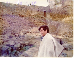 Mohammed Mrabet in Tangier 1975. Courtesy the author.