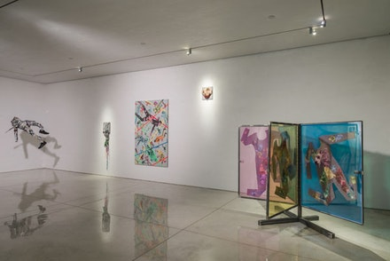Ryan McNamara, <em>Gently Used</em>, Installation view. Courtesy Mary Boone Gallery.