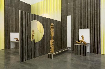 Claudia Comte, <em>No Melon No Lemon</em> (2015), installation view. Courtesy of Gladstone Gallery, New York and Brussels. Photo: David Regen.