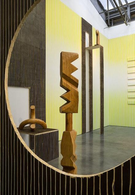Claudia Comte, No Melon No Lemon (2015), installation view. Courtesy of Gladstone Gallery, New York and Brussels. Photo: David Regen.