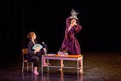 Martha Graham Dance Company in rehearsal for Annie-B Parson's A Snow Falls in Winter. Photo: Brigid Pierce.