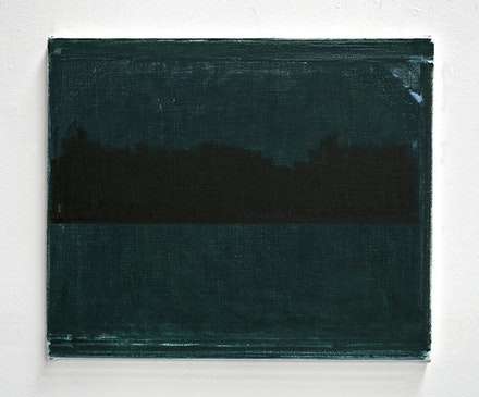 "John Zurier, ""Stapi"" (2014). Oil on linen, 20 × 24 ̋. Courtesy the artist and Peter Blum Gallery, New York."