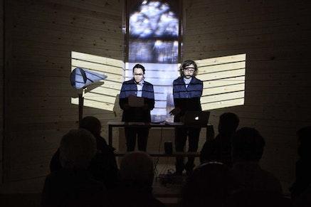 Sala-manca, <em>The Passion of Joao Delgado</em> (2012). Performance. Photo: Guy Yitzhaki.