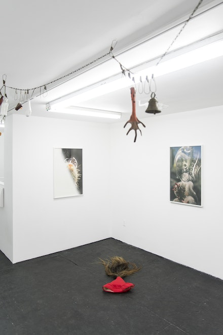 <em>Lands' End</em>, installation view. Courtesy of Bodega.