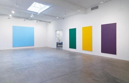 Breer,2014,Polyurethane on acrylic on canvas, 119 1/2
