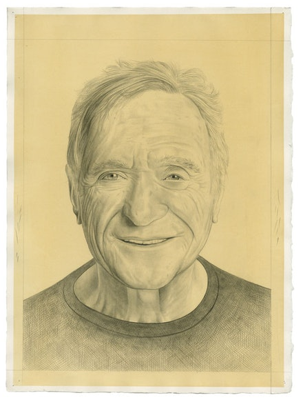 Portrait of the artist. Pencil on paper by Phong Bui. From a photograph by Zach Garlitos.