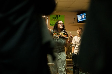 Samantha Thornhill - Brooklyn Laundromat. Photo: Syreeta McFadden.