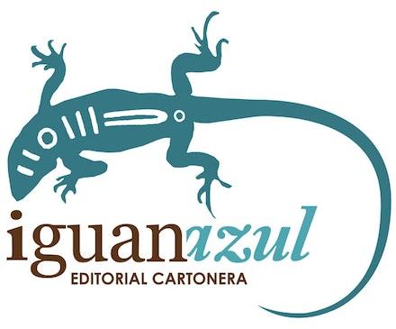 Iguanazul logo: Daniel Vergara.