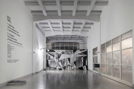Moving Image Department, Veletrzni Palace, National Gallery, Prague.