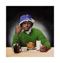 "Hank Willis Thomas, ""Smokin' Joe Ain't J'Mama"" (1978/2006). LightJet print, dimensions variable. Courtesy of the artist and Jack Shainman Gallery, New York."