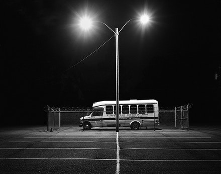 """Matt Ducklo, """"South Parkway East Church of Christ"""" (2011). Gelatin silver print , 16 × 20 ̋. Ed. 1 of 5. Courtesy of Launch F18."""