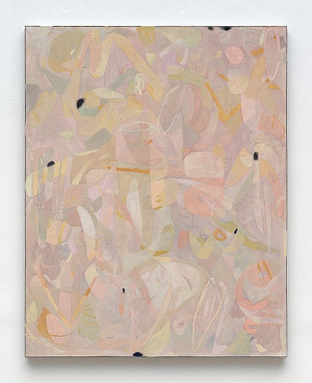 "Clare Grill, ""Copper"" (2015). Oil on line, 63 × 50 ̋. Courtesy of the artist and Zieher Smith & Horton. Photo: Mark Woods."