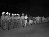 "Alec Soth, ""Execution. Huntsville Prison. Hunstville, Texas"" (2013)."