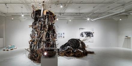 <i>From the Ruins...</i> (2015). Installation. Photo by Rafael Gamo.