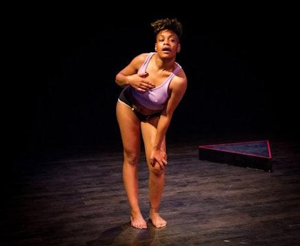 <p>Rakiya A. Orange's <em>Aziza</em>, Fall 2014. Photo: Alex Escalante. Courtesy Gibney Dance.</p>