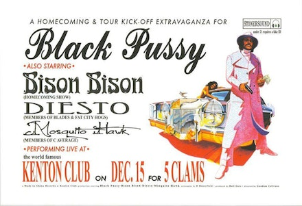 Black Pussy Promotional Flyer, courtesy Dustin Hill.