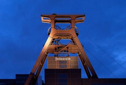 World Heritage Site: Shaft 12 of Zollverein Coal Mine Industrial Complex in Essen, Germany, built by Bauhaus architects. Photo © Thomas Wolf, www.foto-tw.de.