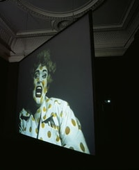 Leigh Bowery, Performance at d'Offay Gallery (11 - 15 Oct 1988) (1988). Video by Cerith Wyn Evans, dur. 27 min 04 sec. Courtesy Charles Atlas. Courtesy of the ICA, London.